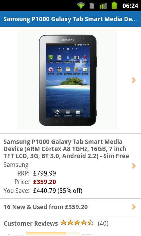 Samsung Galaxy Tab Price Drop