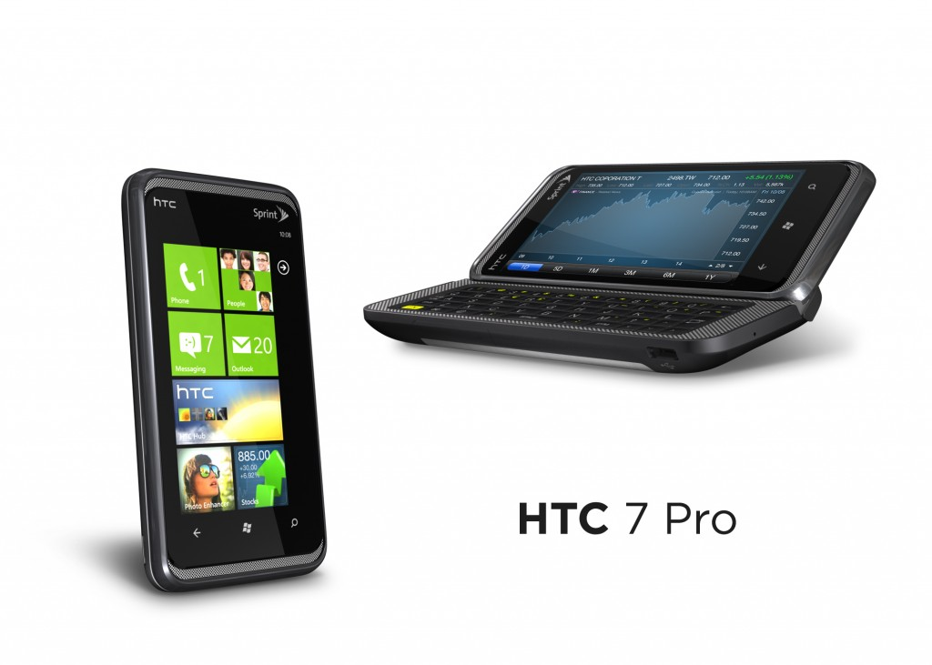HTC Gratia and HTC 7 Pro announced for the UK