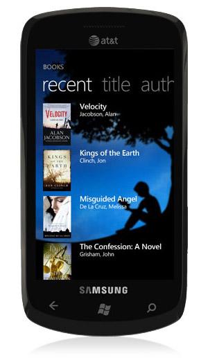 Amazon Kindle App WP7
