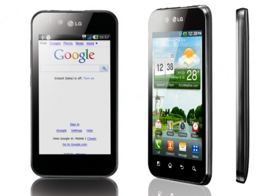 LG Optimus Black Announced At CES
