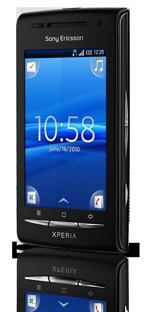 X8 BlackBlack Front40 V Homescreen
