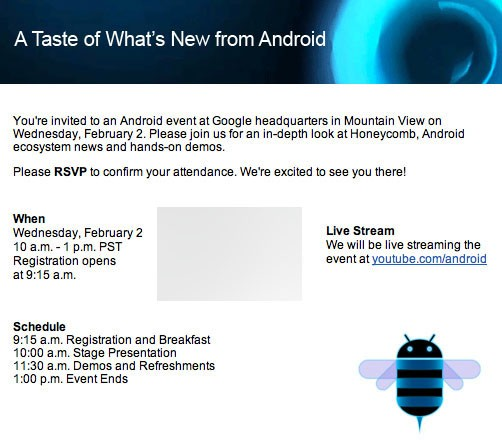 android event 020211