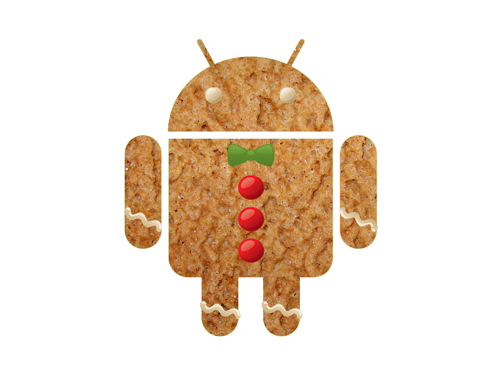 android vector Gingerbread