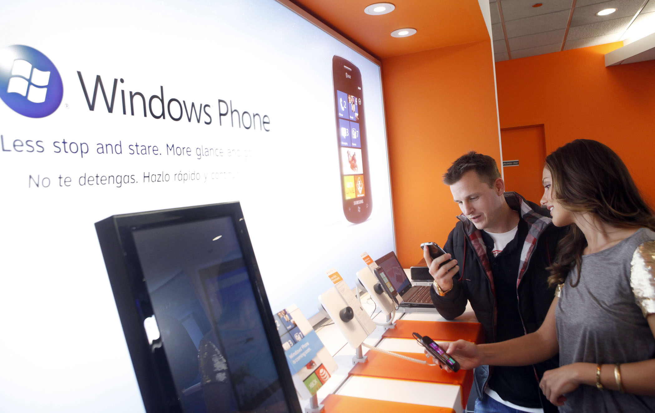 Microsoft Windows Phone 7 Launch