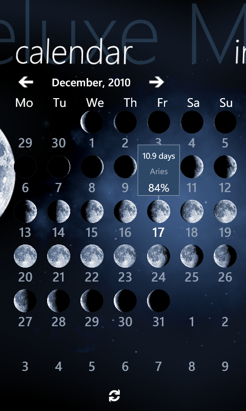 Navigate the night sky with Deluxe Moon