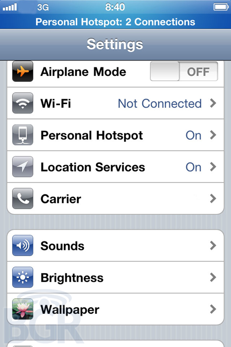 WiFi Hotspots coming to iPhone