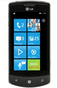 Windows Phone 7 Launch didnt meet expectations   LG