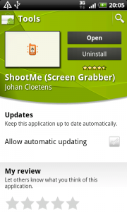 ShootMe Android app updated