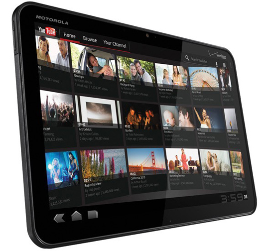 Motorola XOOM Tablet Announced
