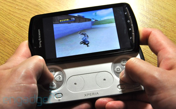 Engadget Get Hands On With The Xperia Play