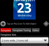 Make your own clock widget