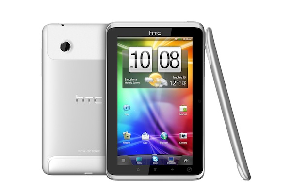 HTC Flyer Tablet Announced