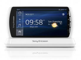 O2 Get White Xperia Play Exclusive