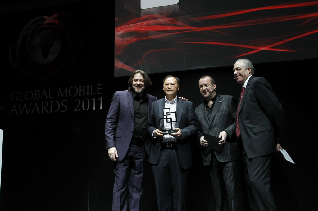 HTC win Device Manufacturer of the Year at MWC 2011