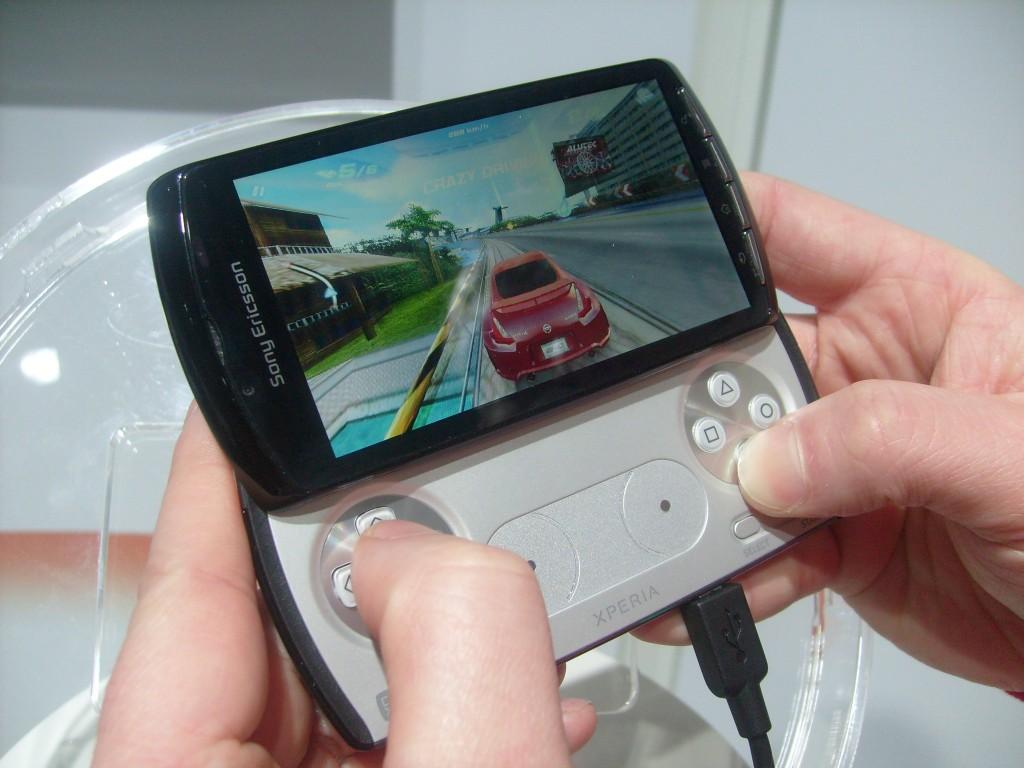 Sony Ericsson Xperia PLAY   Up close