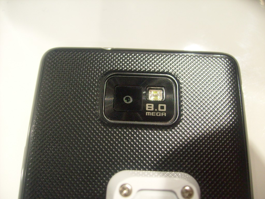 Samsung Galaxy S II   Up close
