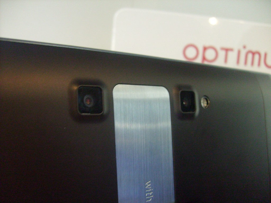 LG Optimus Pad   Up close
