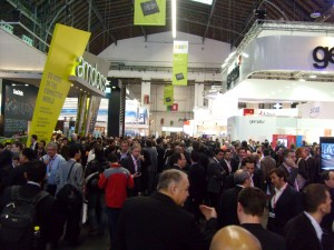 Windows Phone 7 at MWC. Its here, somewhere.