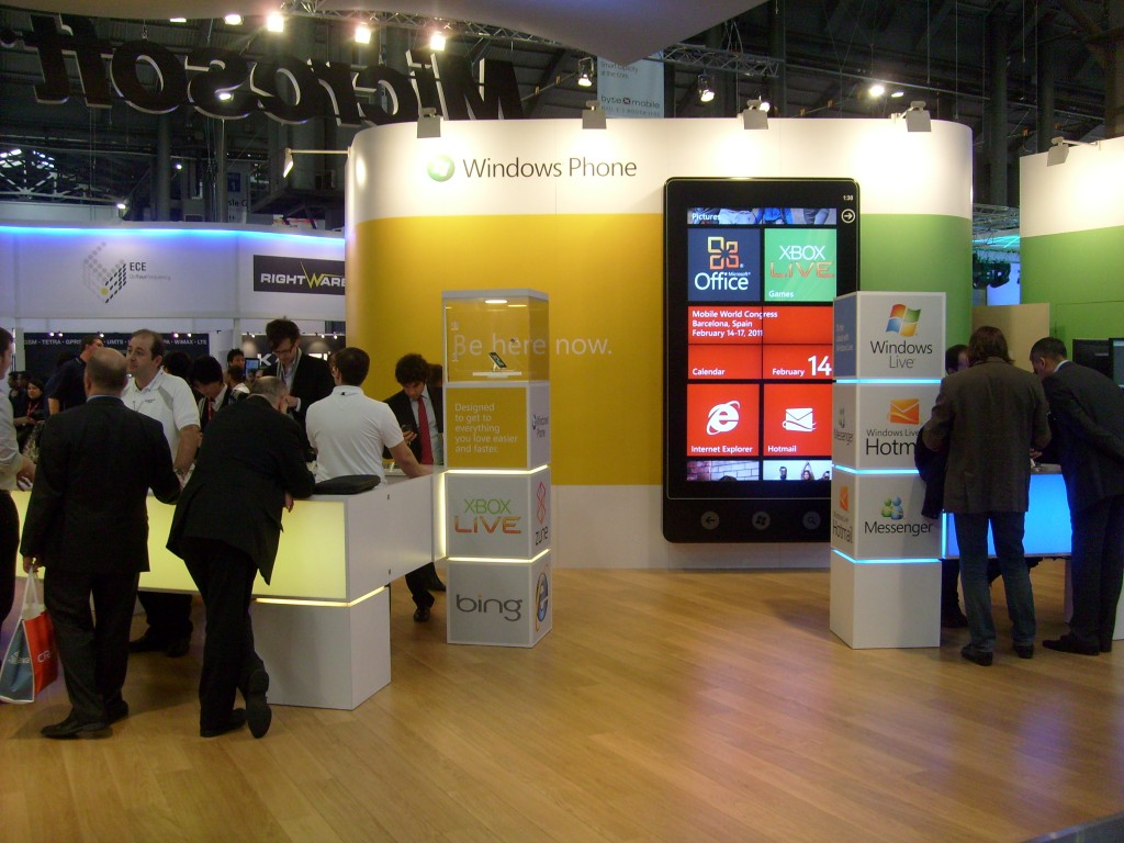 Windows Phone 7 at Mobile World Congress 2011