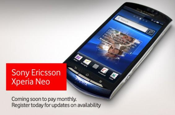 Sony Ericsson Xperia Neo coming soon