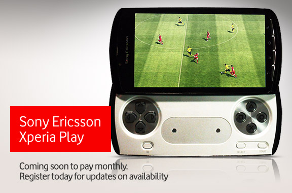 Vodafone To Sell Xperia Play & Neo