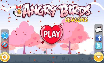 Angry Birds goes all romantic