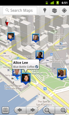 Google Maps 5.1, now with Check ins for Latitude