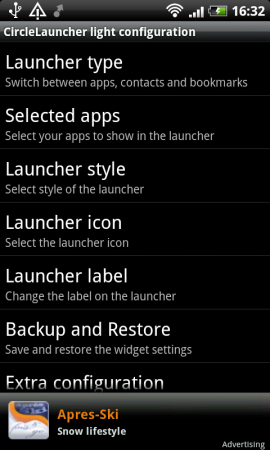 Coolsmartphone Recommended App   CircleLauncher Light