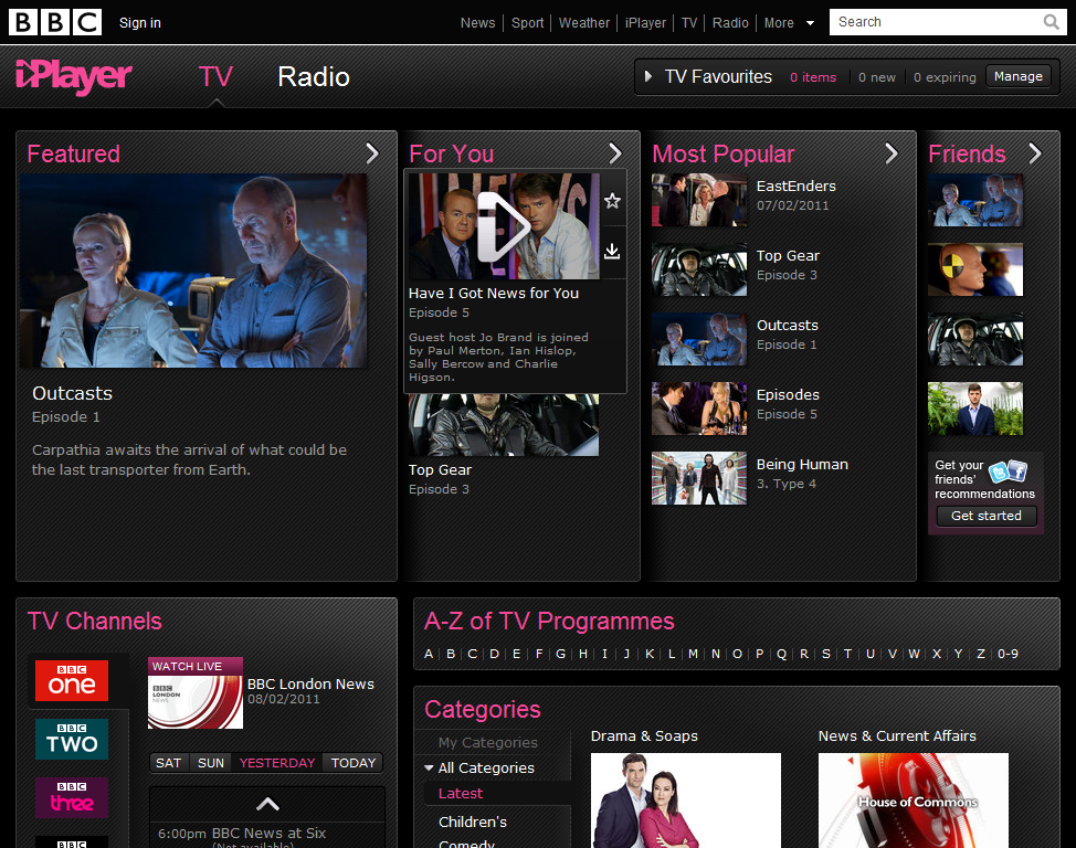 iPlayer apps coming to iPad and Android this week