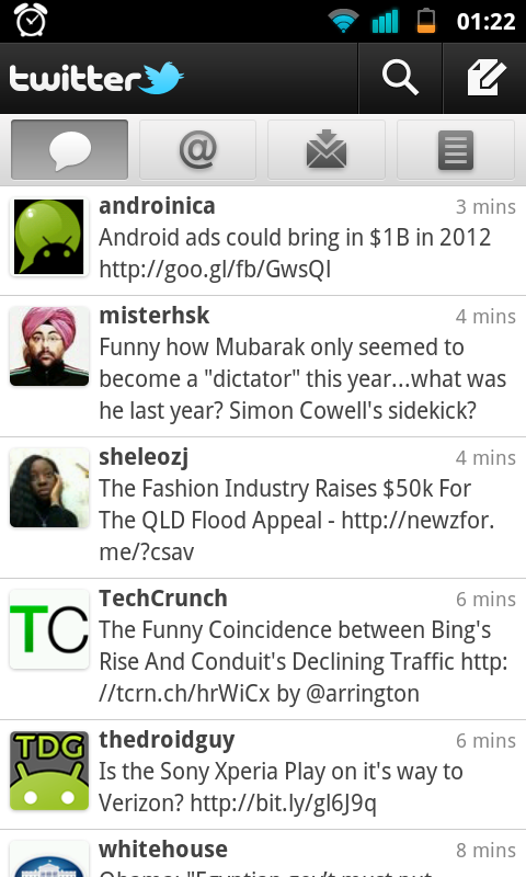 Twitter for Android 2.0