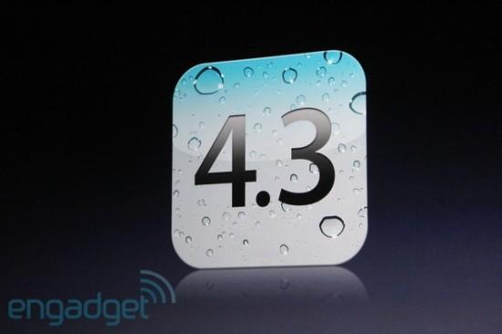 iOS 4.3 Announced