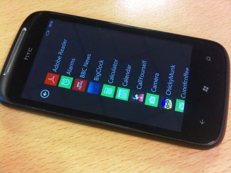 Leaked Windows Phone 7 update for Mozart hits the web