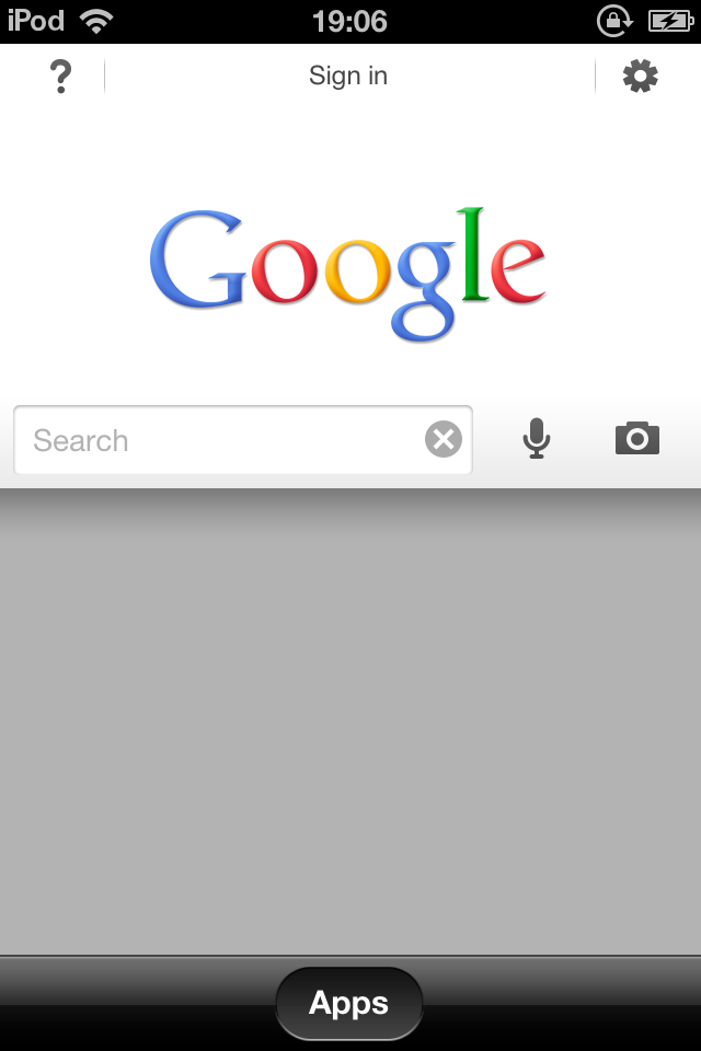 Google Search App for iOS