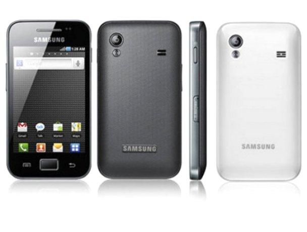 Samsung Galaxy Ace S5830 Spotted on Samsung Website