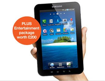 Three Now Stock Galaxy Tab