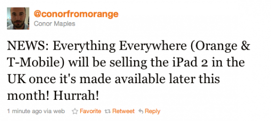 Everything Everywhere To Sell iPad 2
