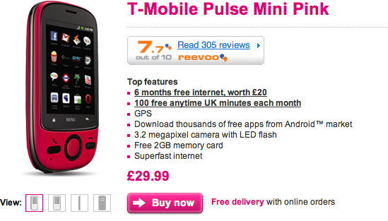PAYG Android Phone Under £30!