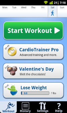 Coolsmartphones Recommended Android Apps   Cardio Trainer.