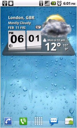 Coolsmartphone Recommended Android Apps   Clock Widgets Part 1