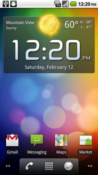 clock fancy widget 1