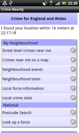 Coolsmartphone Recommended Android App   Crimes Near Me