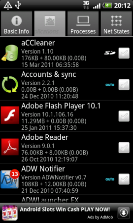 Coolsmartphone Recommended Android App   Quick System Info
