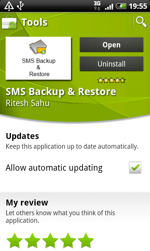 desirez sms backup market