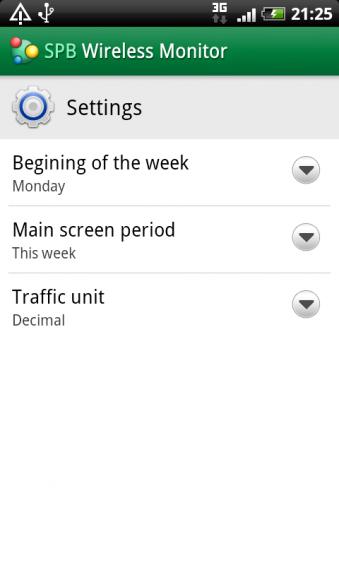 desirez spb settings