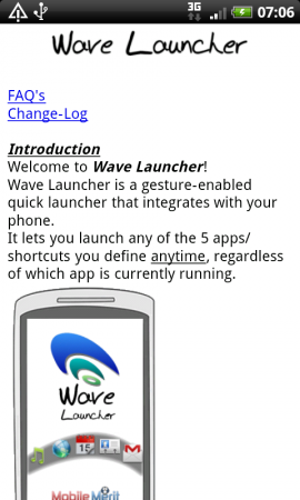 Coolsmartphone Recommended App   Wave Launcher