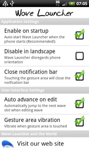 desirez wave settings