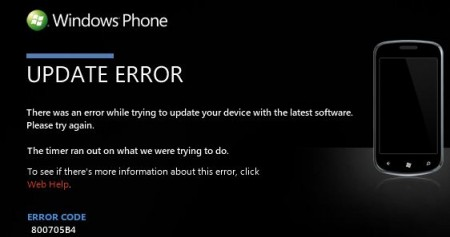Windows Phone 7 update still failing for some Samsung owners