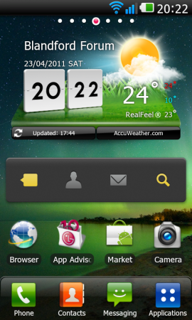 LG Optimus 2X first impression.