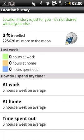 Google Maps Updated   Track your movements