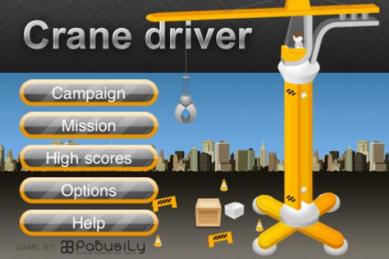 Crane Driver   Menu